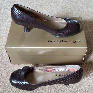 "Madden Girl ""Velour"" Pump Brown"